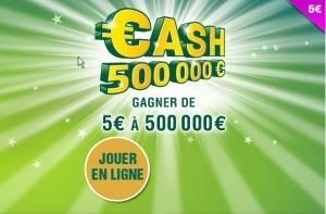 cash 500 milles1jpg 300x197 FDJ : Le jeu de grattage Cash 500 000€