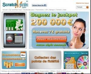 Scratchmania.com:les jeux de grattage en ligne