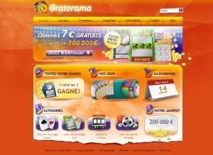jeux de grattage Gratorama