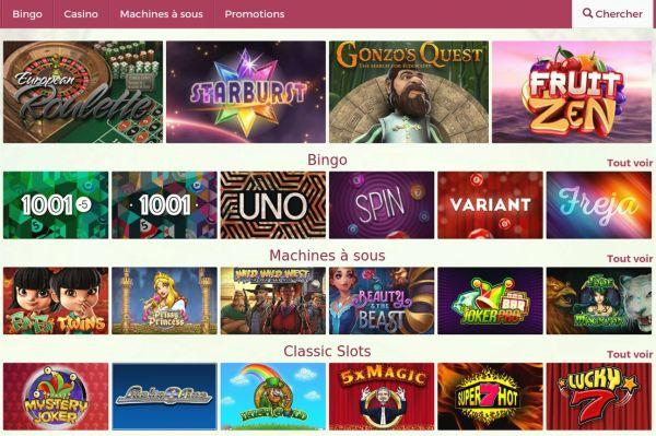 les meilleurs jeux de casino sur onlinebingo
