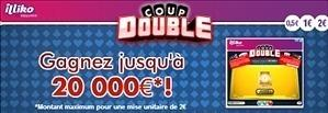 Ticket de grattage Coup Double